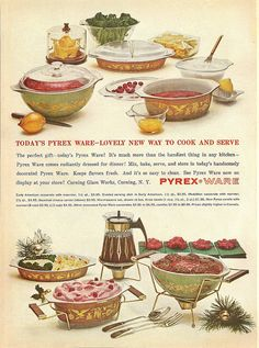 Maybe my next goodwill trip I'll try and find some of these metal stands for my pyrex