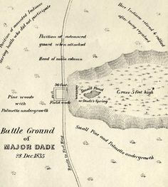 Bushnell Florida Map.11 Best Seminole War Images Battle Ground December Native American