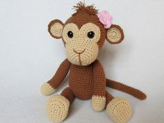 Every child (and not only a child) needs a friend to talk to, to share secrets and play with. Make such a friend with your hands full of love. Crochet a sweet little monkey to be a best friend for your little one. Detailed instructions and pictures help you to crochet all parts of the