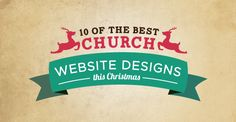 Discover the best church website designs this Christmas