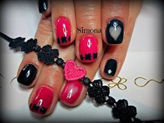 gel polish by simonaleucht - Nail Art Gallery nailartgallery.nailsmag.com by Nails Magazine www.nailsmag.com #nailart