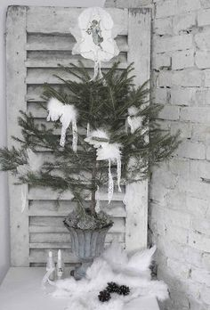 Vintage chic: Inspirasjon: Fransk jul