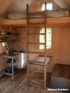 Scottish Cabin / The Bothy Project, I love tiny living Small Space Living, Tiny Living, Compact Living, Casas Containers, Bothy, Cabins And Cottages, Small Cabins, Small Cottages, Log Cabins