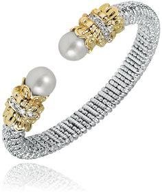 Beautiful Open Pearl Bracelet!