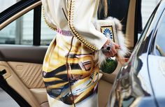 this prada coat has been editorialized to death and i'm so not over it (shot by tommy ton)
