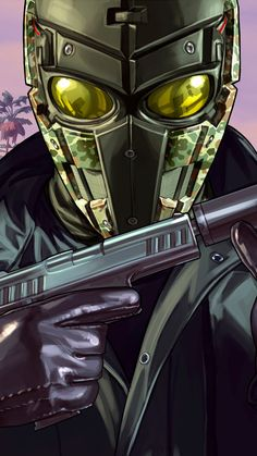 GTA Online: The Doomsday Heist, video game, game, wallpaper Gta Online, Online Games, Iphone Wallpaper For Guys, Man Wallpaper, Legion Game, Rock Games, Iphone Online, Bruce Lee Martial Arts, Dope Wallpapers