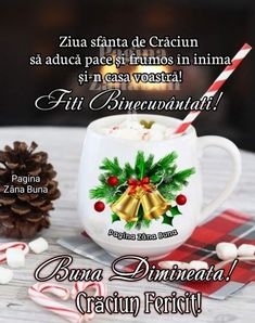Merry Christmas, Christmas Ornaments, Lily, Mugs, Holiday Decor, Tableware, Anul Nou, Advent, Messages