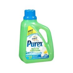 Purex Natural Elements Linen Lilies Liquid Laundry Detergent, 75 fl oz... ❤ liked on Polyvore featuring home, home improvement and cleaning