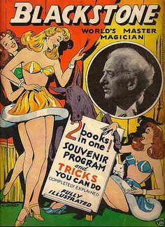 Magician Blackstone Magic Trick Vintage 1949 Program   Flickr - Photo Sharing!