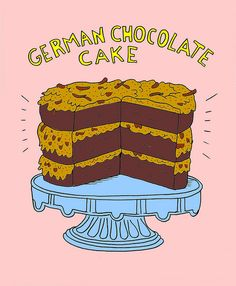 1000+ images about Cake ~ German Chocolate on Pinterest ...