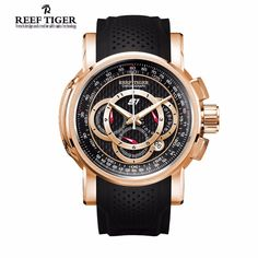 Just in! Aurora: Top Speed...  Get it today at  http://wristtakerwatches.com/products/aurora-top-speed-by-reef-tiger?utm_campaign=social_autopilot&utm_source=pin&utm_medium=pin