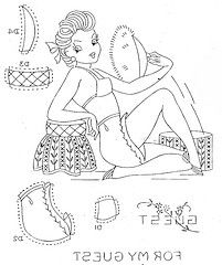 pin up 2 (Keen Olive) Tags: vintage embroidery patterns