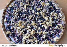 Celozrnný koláč s tvarohem, ovocem a drobenkou z ovesných vloček recept - TopRecepty.cz Acai Bowl, Breakfast, Fitness, Acai Berry Bowl, Morning Coffee