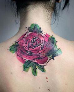 50+ kleine Rose Tattoos für Frauen & Männer (2019) - Tattoosideen - 50+ kleine Rose Tattoos für Frauen & Männer (2019) Rose ist der König der Blumen und deshalb sti - #Frauen #für #kleine #manner #Rose #rosetattooideas #tattooideasformoms #tattoos #tattoosideen Flower Tattoo Meanings, Small Flower Tattoos, Flower Tattoo Designs, Small Tattoo, Spine Tattoos, Star Tattoos, New Tattoos, Wrist Tattoo Cover Up, Tatoo