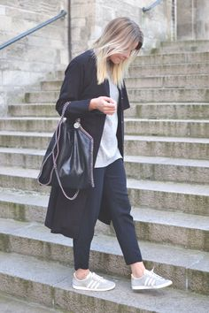 Ditteblog.dk Outfit Stella McCartney + Adidas Gazelle