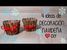Decoración Navideña DIY - YouTube