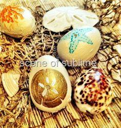 Coastal~Inspired Easter Eggs