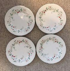 "4 Pfaltzgraff Winterberry 11"" Dinner Plates Christmas Winter Tableware Holiday  | eBay"