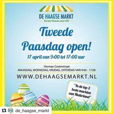 Nog even en dan begint het lange weekend. Vrijdag is het goede vrijdag en maandag 2e paasdag naast het bijkomen ook tijd voor wat leuks. En een leuke uit tip heb ik voor je hebben want de Haagse Markt is gewoon op! Dus kom gezellig goede vrijdag zaterdag of maandag 2e paasdag naar de Haagse Markt.    #pepaondermode #haagsemarkt #denhaag #goedevrijdag #vrijdag #zaterdag #maandag #tweedepaasdag #pasen #thehague #behague #paashaas #paaseieren #eierenzoeken #easter #easterbunny #eggs #eggday…