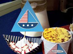 Nautical Party sail boat
