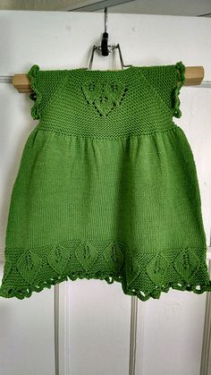 c454dade1c6 Ravelry  Project Gallery for Sproutlette Dress pattern by Tanis Lavallee  Baby Clothes Patterns