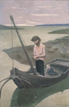 Le pauvre pêcheur - Pierre Puvis de Chavannes - Version du Musée d'art occidental de Tokyo