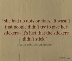 """Saints 365: 7 Lessons from Max Lucado's """"You Are Special"""""""