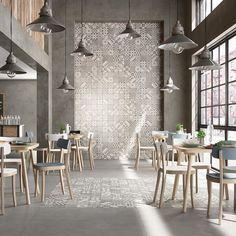 """It's #TileTuesday! Taking industrial chic to the next level with #Marazzi's fab Block #tile series that offers a rectified #porcelain interpretation of hand-cast #concrete. Six colors including #Sicilian #majolica-inspired 6""""x6"""" #porcelain decos. Perfect for #walls #countertops and #floors.  // #architecture #design #designer #designhounds #home #homedecor #homeinspo #instadecor #interiors #interiordesign #idcdesigners #tiled #tilelove #tileaddiction #tilework #tileporn #tileometry by…"""