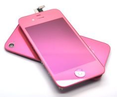 iPhone 4s Retina LCD Digitizer Full Repair Replacement Kit Back Cover   WARRANTY (Rose 6c9d1375bd