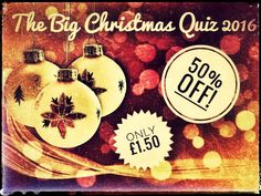 Download this resource and win an Amazon Echo! Christmas Quiz. The Big Christmas Quiz. Slideshow Edition
