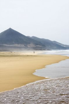 Cofete en la isla de Fuerteventura