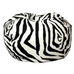 Classic Bean Bag Zebra