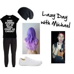 Lazy day with Mikey by @CalPal1996 :) 5sos Outfits, Cute Outfits, Michael X, Michael Clifford, Band Merch, 5 Seconds Of Summer, Out Of Style, Lazy, Going Out