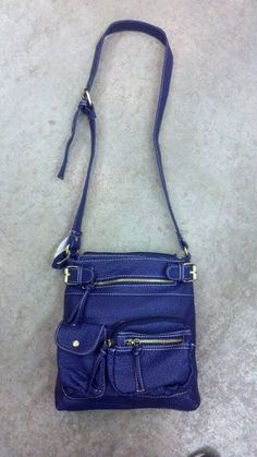 Blue Messenger...Great with Jeans!