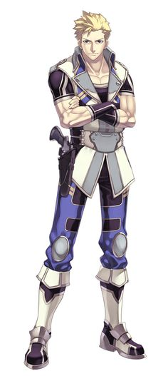 Ys Character Design : Characterconcepts adol christin from ys memories of