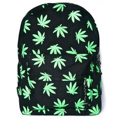 Blaze It Backpack ($29) ❤ liked on Polyvore featuring bags, backpacks, canvas bag, rucksack bag, print bags, canvas rucksack and print backpacks