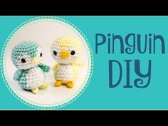 Pinguin · Häkelanleitung *Do it Yourself* - YouTube