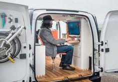 Ortsunabhängig und flexibel: Der Nissan e-NV200 Workspace als mobiler Arbeitsplatz – Mobilegeeks.de