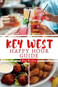 A Guide to the Best Key West Happy Hour Deals – Dang Travelers - Plan the best Key West bar crawl with this Key West happy hour guide. Where to go for the best seaf - Usa Travel, Florida Travel, Florida Vacation, Travel Tips, Vacation Spots, Vacation Ideas, Florida Trips, Travel Destinations, Visit Florida