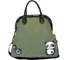 Chala Women's Dada Panda Crossbody Bag,Olive/Olive,US Chala http://www.amazon.com/dp/B00HFUKUIA/ref=cm_sw_r_pi_dp_DZIcvb0276BRZ