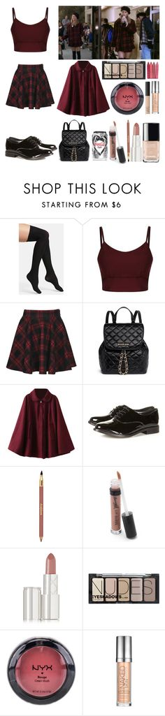 """Cher ♥"" by shanelle-khl ❤ liked on Polyvore featuring Commando, Boohoo, MICHAEL Michael Kors, Chantal Thomass, Sisley Paris, Barry M, By Terry, H&M, NYX and Urban Decay"