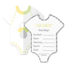 Babyparty Deko Baby Shower Spiel-Set 8 Stück Babybody - Mia-Felice von MiaFeliceDecorations auf Etsy https://www.etsy.com/de/listing/456188904/babyparty-deko-baby-shower-spiel-set-8