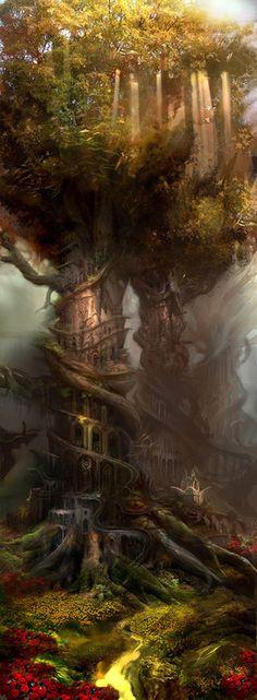 Royaume des elfes des forêts