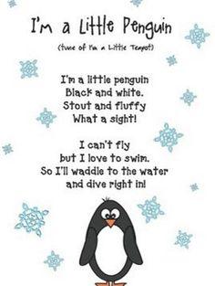Penguin Songs, Penguin Craft, Songs For Toddlers, Kids Songs, Songs For Preschoolers, Winter Activities For Toddlers, Preschool Music, Preschool Ideas, Penguin