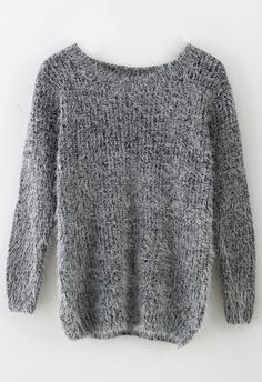 Basic Fluffy Sweater in Pink - I think I need this | i wish ...