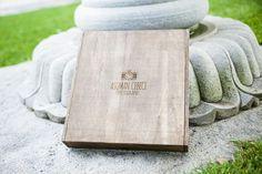 Fine art wedding album wood box