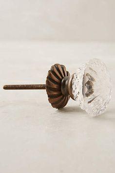 Simmered Glass Knob -- for existing dresser