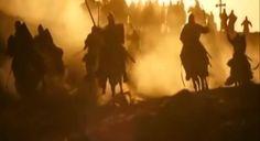 """""""Ágeis como lobos"""". Assim surgiram os cavaleiros francos que surpreenderam o exército de Saladino na Batalha de Montgisard."""