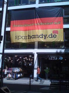 Banner von bannerstop.com für die Sparhandy.de.