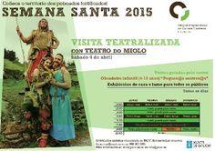 Semana Santa no Parque Arqueolóxico da Cultura Castrexa en PACC, San Amaro/Punxín (Ourense)
